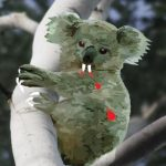 The infamous, deadly Drop Bear.