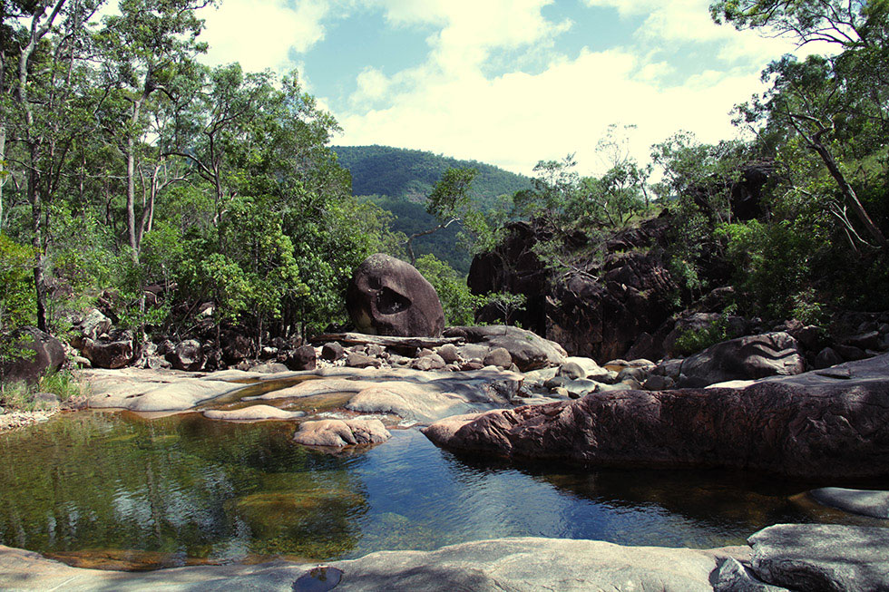 Crystal Creek, Queensland, Australia.