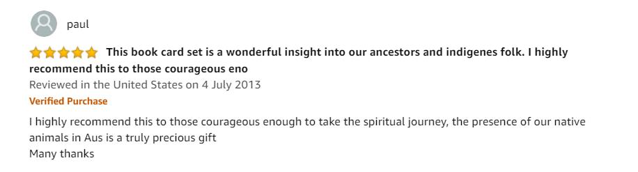 good review on amazon